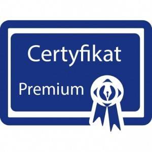 Certyfikat premium