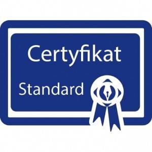 Odnowienie Certyfikat Standard